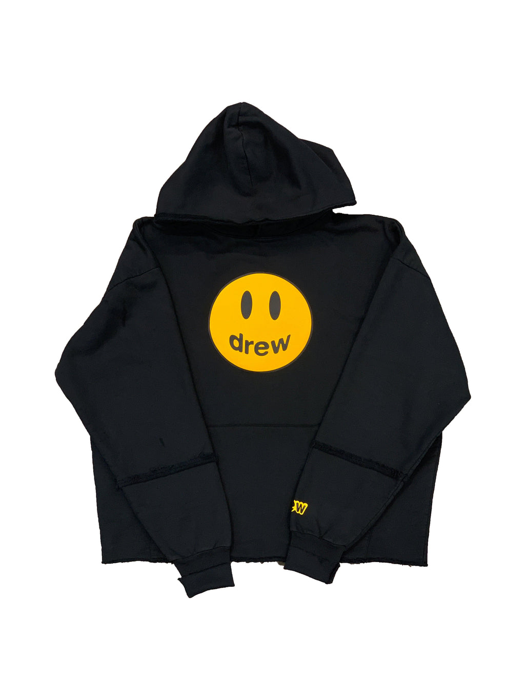 Drew House Deconstructed Mascot Hoodie Black