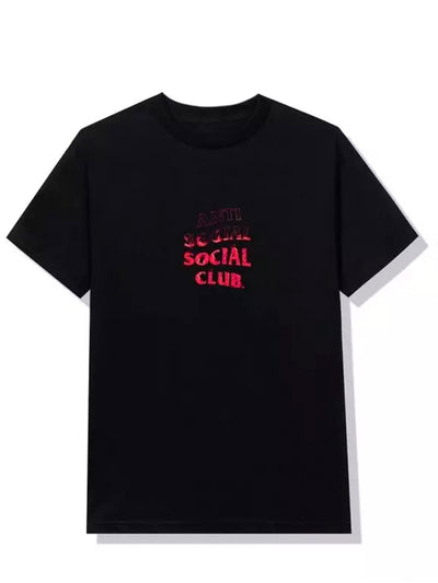 Anti Social Social Club A Fire Inside Tee Black - Prior