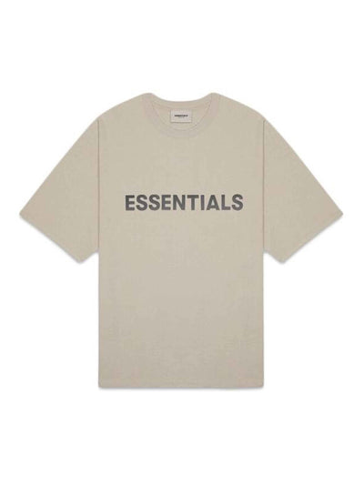 Fear of God Essentials Front Logo T-Shirt Olive - PRIOR