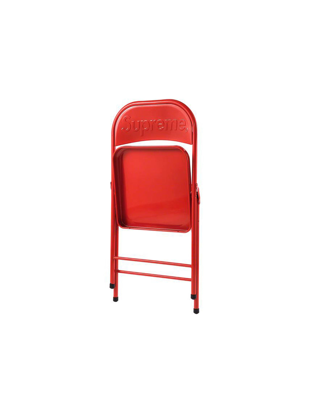 Supreme Metal Folding Chair Red - PRIOR