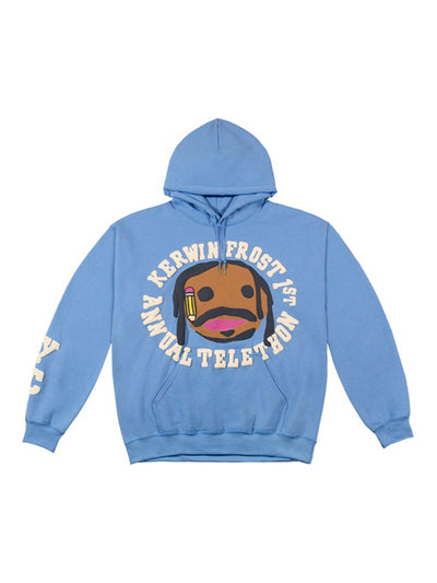 CPFM For Kerwin Frost Telethon Hoodie Blue - PRIOR