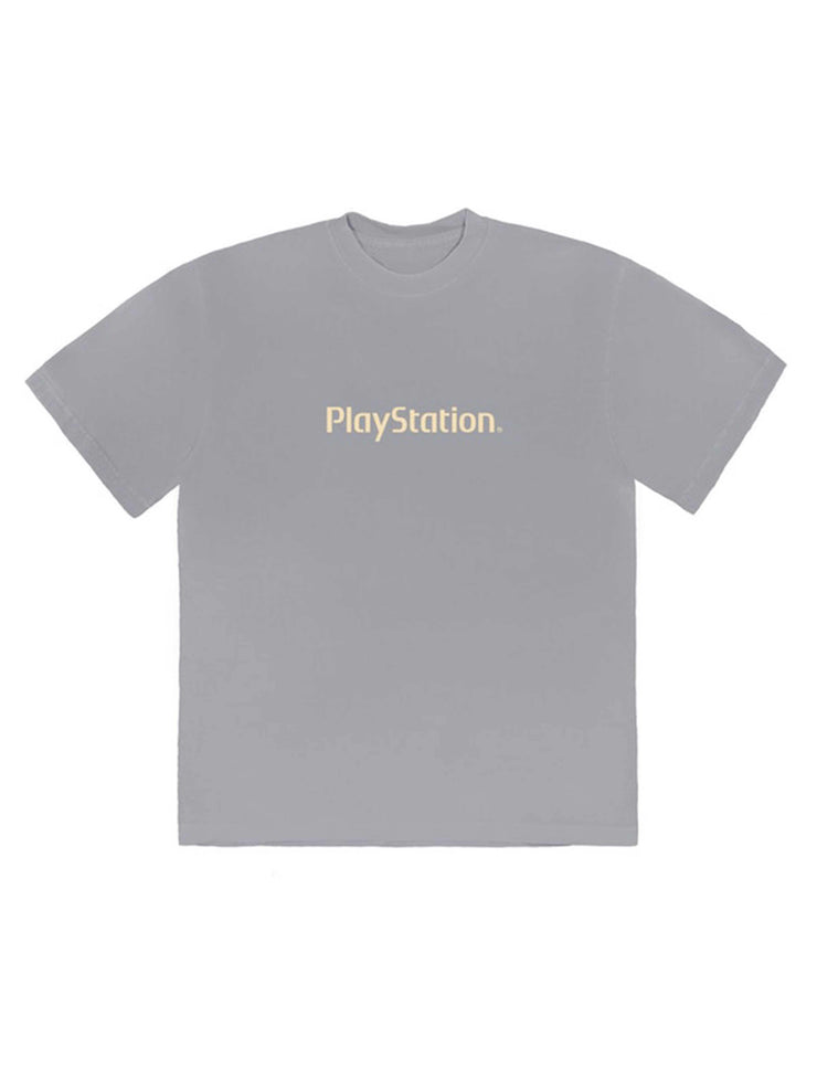 Travis Scott Motherboard Logo III T-Shirt Ice Grey - PRIOR