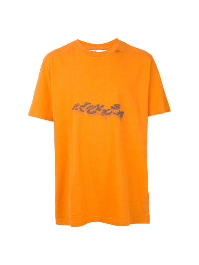 OFF-WHITE 3D Pencil Tee Orange - PRIOR