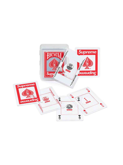 Supreme X Bicycle Clear Playing Cards - PRIOR