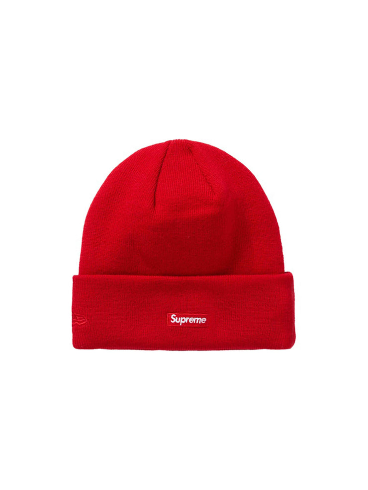 Supreme New Era Shop Beanie Red London [FW20] - PRIOR