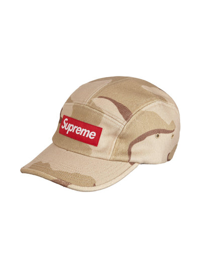 Supreme Wool Camp Cap Desert Camo [FW20] - PRIOR