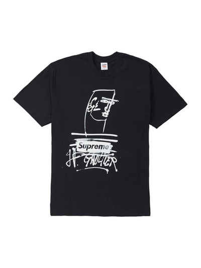 Supreme Jean Paul Gaultier Tee Black [SS19] - PRIOR