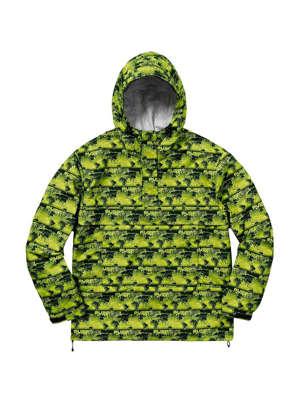 Supreme World Famous Taped Seam Hooded Pullover S
