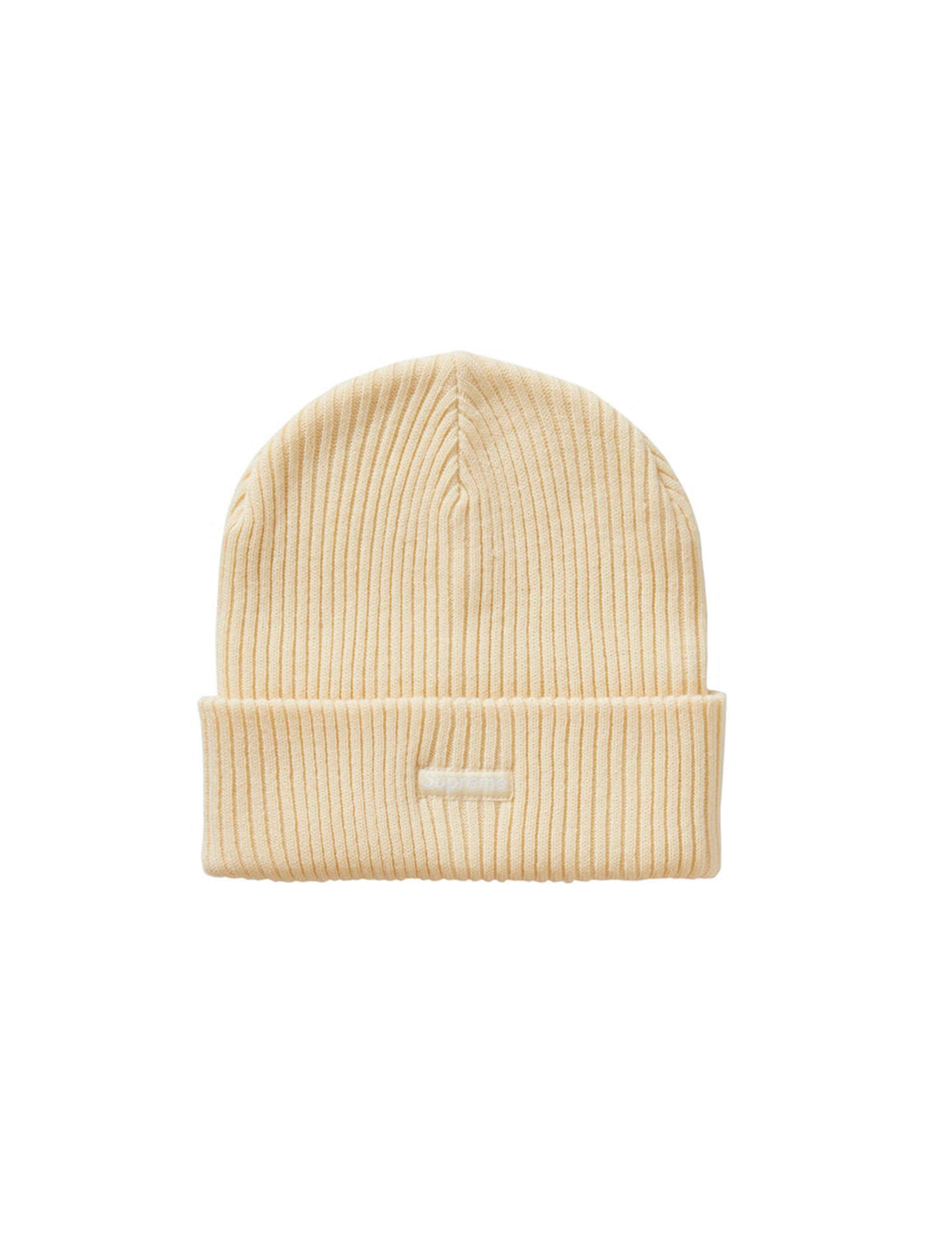 Supreme Wide Rib Beanie Natural [FW20]