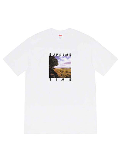 Supreme Time Tee White [SS20] - PRIOR