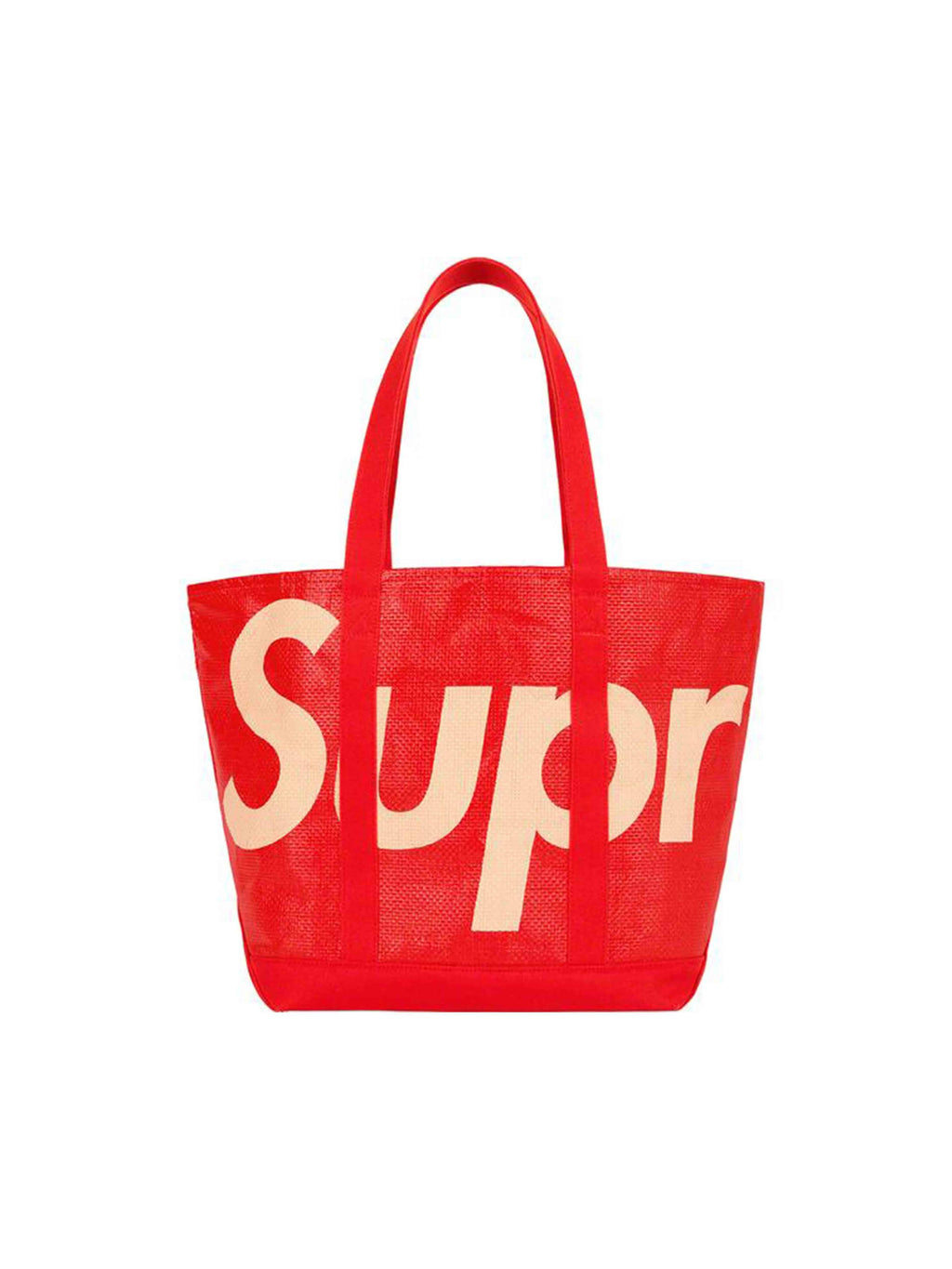 Supreme Raffia Tote Bag Red [SS20]