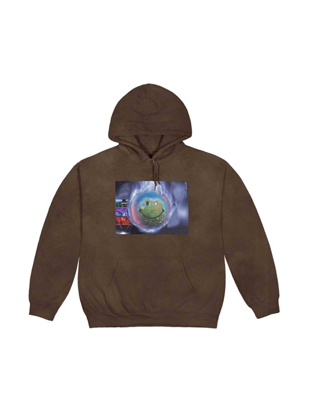 Travis Scott World Event Hoodie Bleached Black - PRIOR