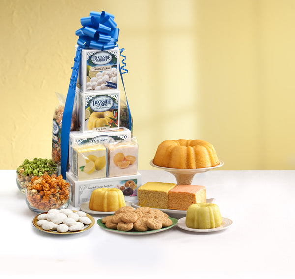 Dockside Citrus Treat Tower - Hyatt Fruit Co