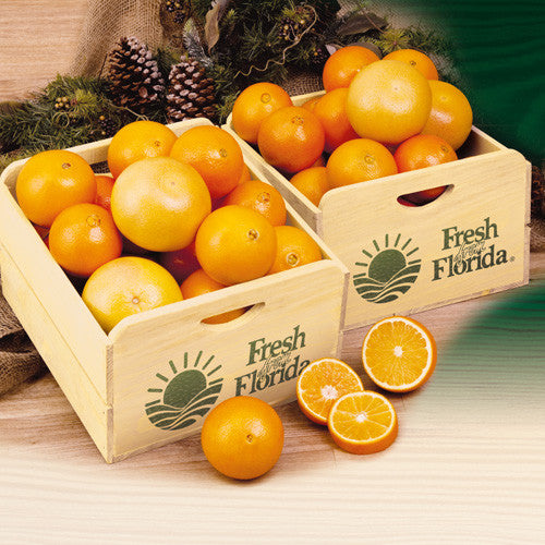 Florida Citrus Field Crate - Hyatt Fruit Co