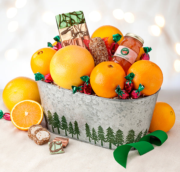 Florida Citrus Gift Keepsake Tin - Hyatt Fruit Company