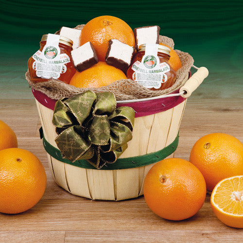 Navel Peck Basket - Hyatt Fruit Company Florida