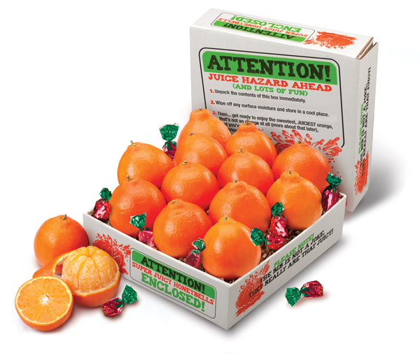 Juicy Honeybell Oranges Gift Box - Hyatt Fruit Company Citrus