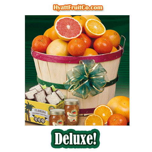 Florida Fruit Gift Basket - Hyatt Fruit Company