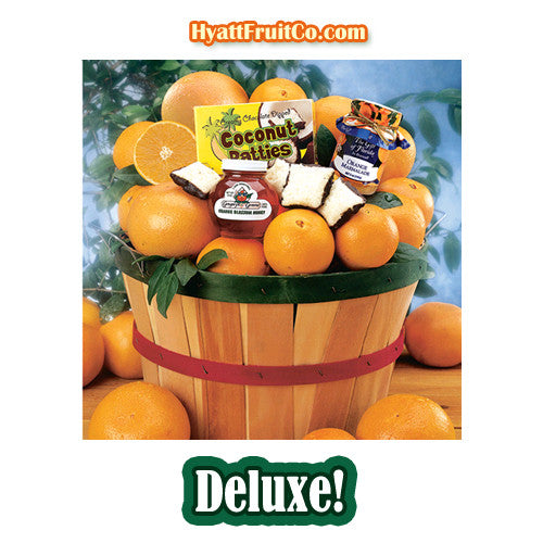 Grove Basket - Hyatt Fruit Company  Oranges