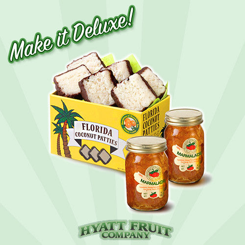 Florida Honeybell Grove Basket - Hyatt Fruit Company Oranges