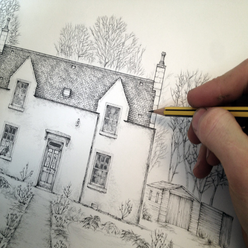 The Old Rectory of Fisherford- Drawing & Finishing Touches