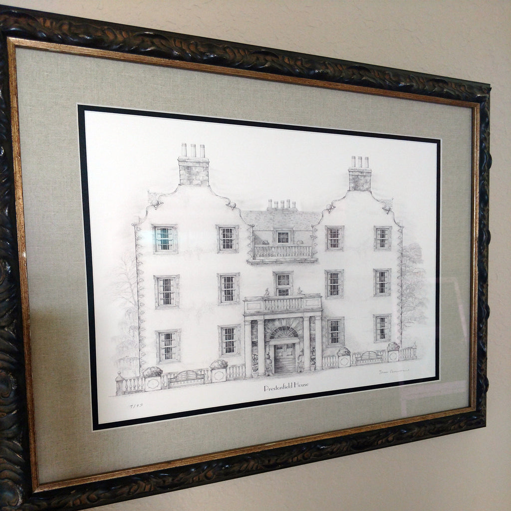Sending a Print to Florida! Prestonfield House