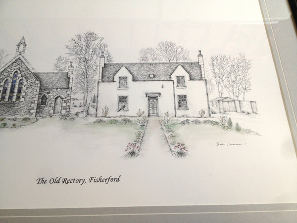 The Old Rectory Jamie Cameron Drawing