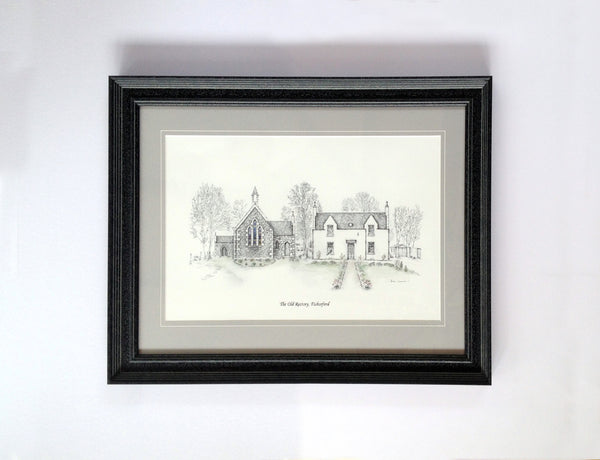 The Old Rectory Illustration- Jamie Cameron