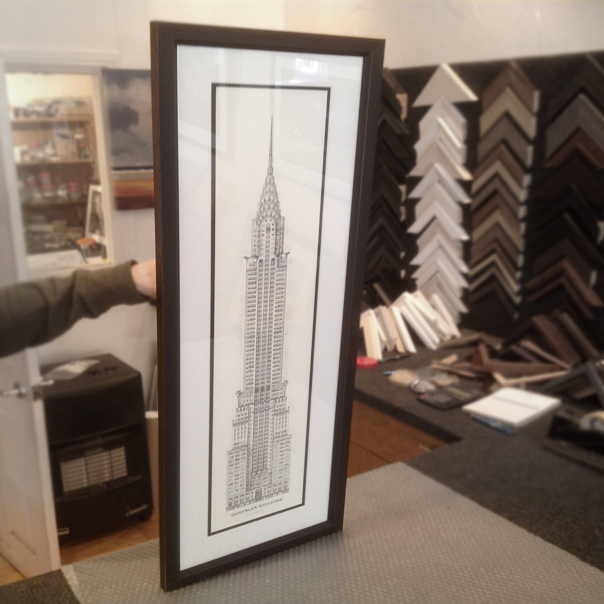 Chrysler-building-drawing