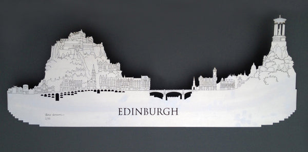 Edinburgh - Brushed Steel