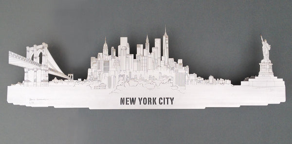 New York City - Brushed Steel