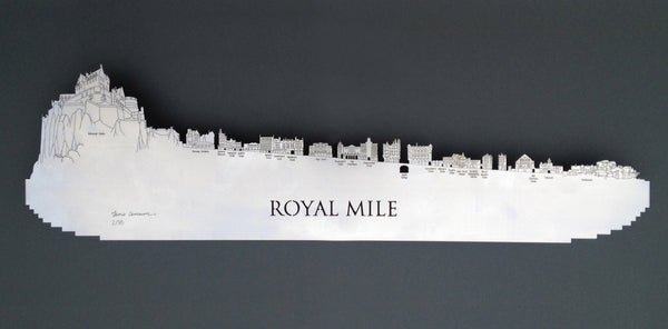 Royal Mile - Brushed Steel