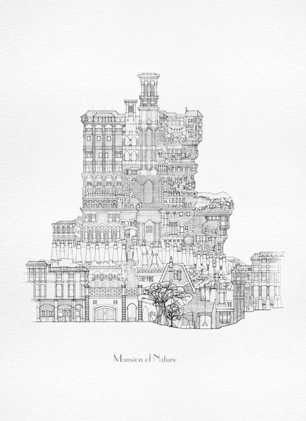 Mansion of Nature- Mediaeval / Architecture Fantasy