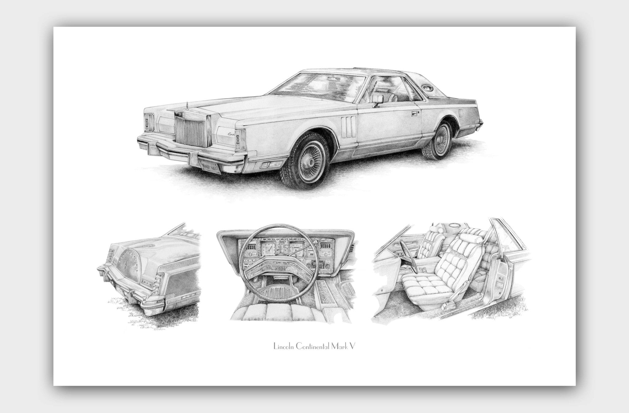 Luxurious Land Yacht- Lincoln Continental (Connoisseur's Edition)