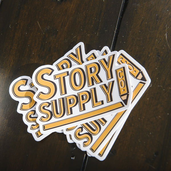 Story Supply Co. Logo Sticker