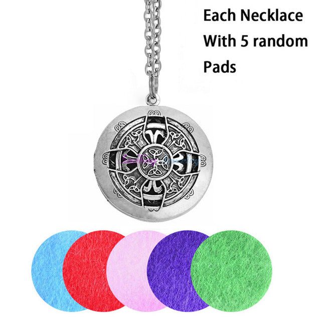 Locket Essential Oil Necklace Diffuser - AyaZen