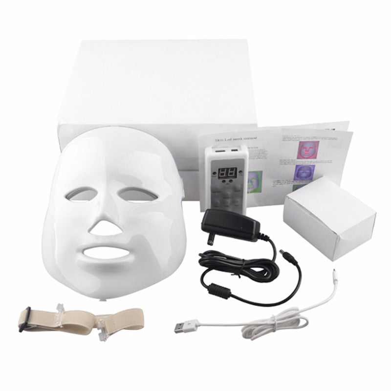 LED Photon Light Therapy Face Mask Professional For In Home Use - AyaZen