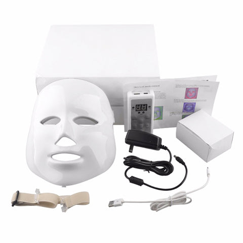 LED Photon 7 Light Therapy Face Mask Professional For In Home Use