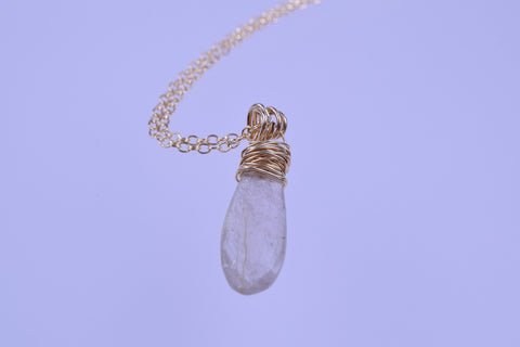 Gold String Quartz