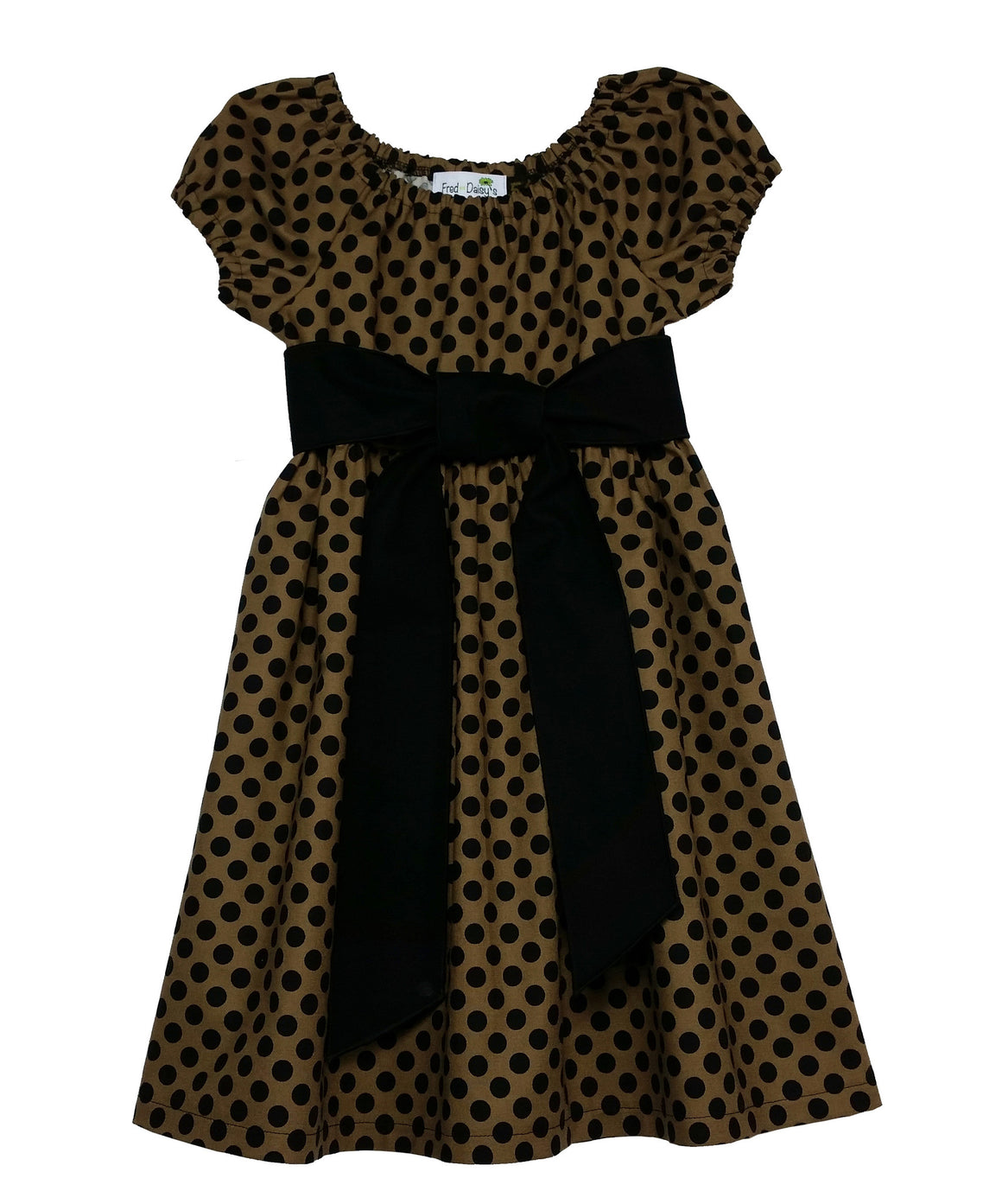 Ricky Raccoon - Lots of Dots Dress