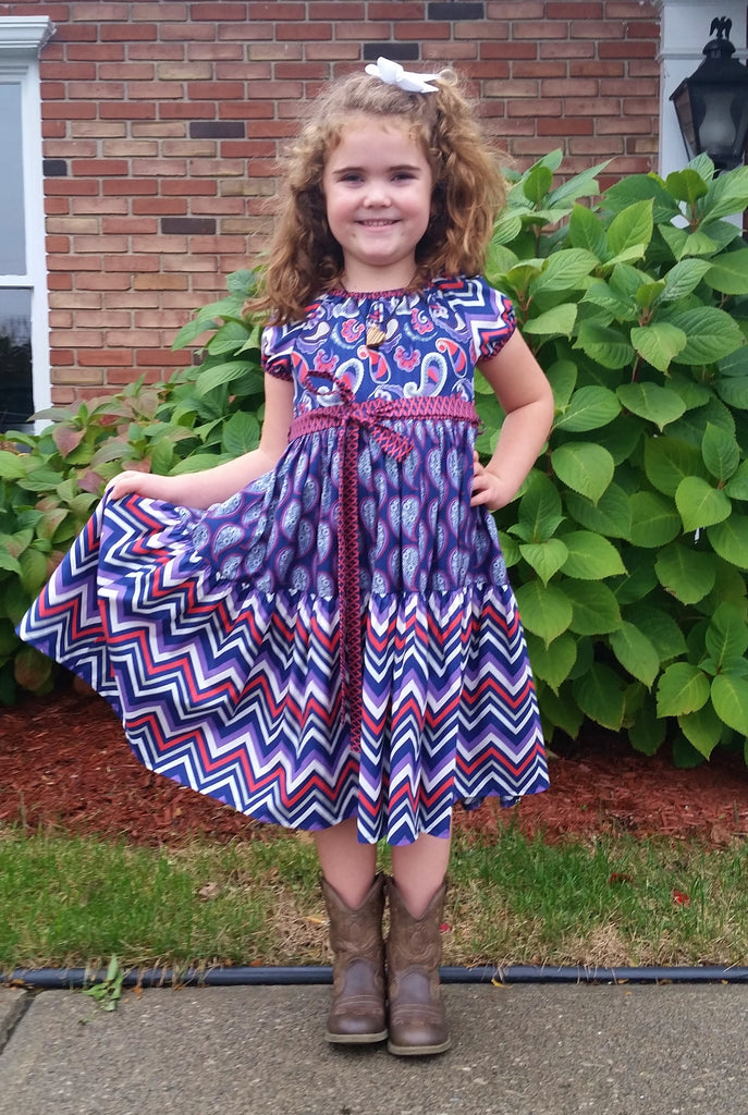 Paisley Princess Dress