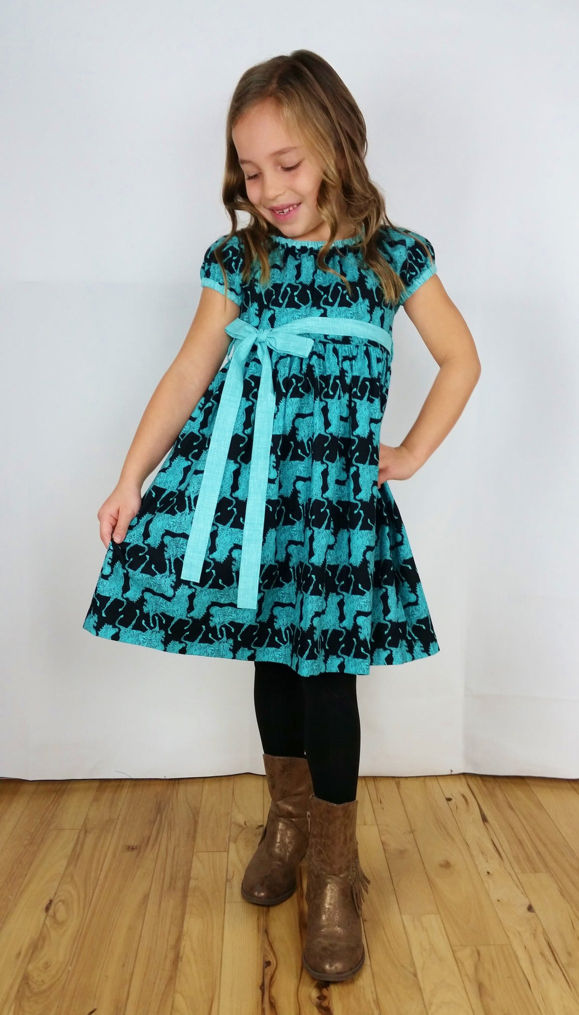 Evening Gallop Prairie Dress