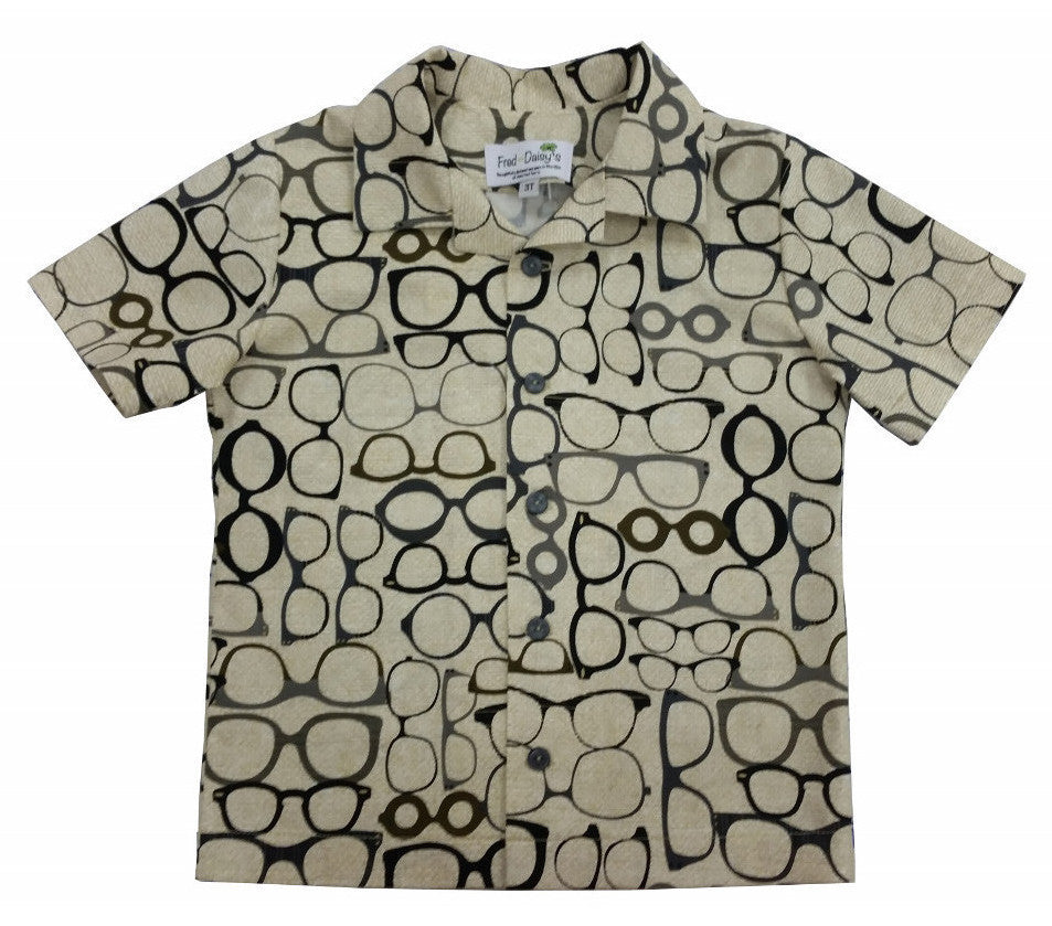 Fred's Specs Button Front Shirt
