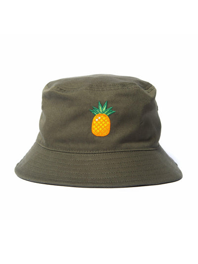 Pineapple Bucket Hat - Square Blades