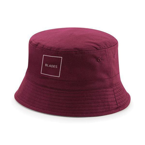 Square Logo Retro Bucket Hat