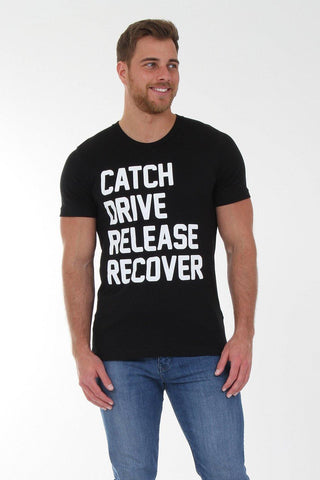 Wallington Catch Drive Release Recover T-Shirt - T-Shirts - Square Blades Clothing
