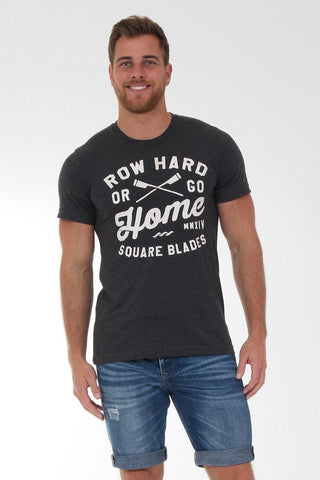 Wallington Row Hard Or Go Home T-Shirt - T-Shirts - Square Blades Rowing Apparel Company