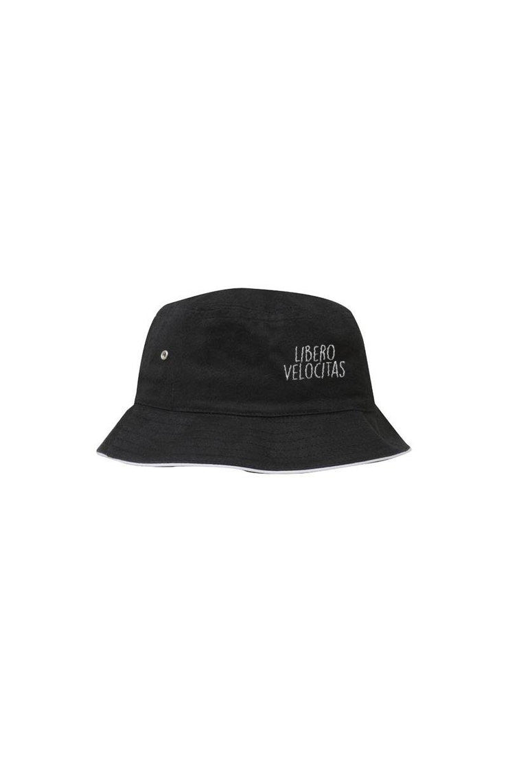 Libero Velocitas Retro Bucket Hat - Hats - Square Blades Apparel