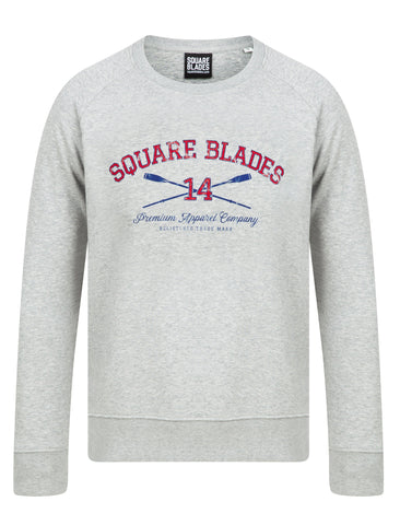 Sutton Crew Neck Sweatshirt - Square Blades