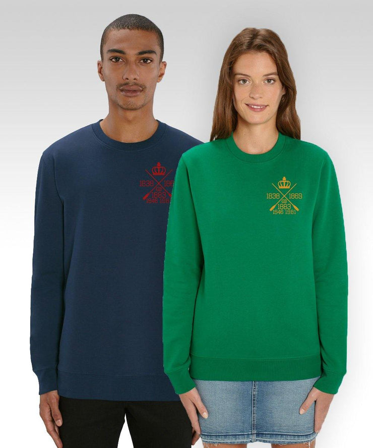 Aldersey Embroidered Sweatshirt - Sweatshirts - Square Blades Apparel